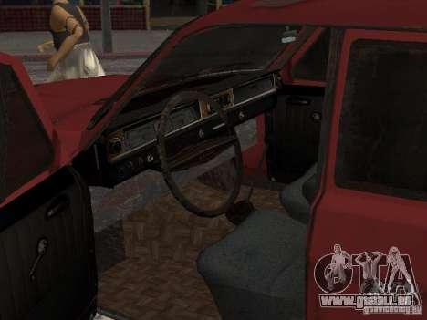 Volga Gaz M24-Rusty mort pour GTA San Andreas vue de droite