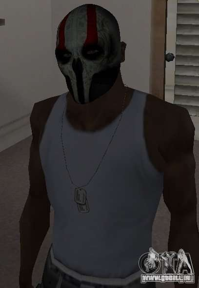 Army of Two Mask Skull für GTA San Andreas dritten Screenshot