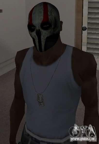 Army of Two Mask Skull pour GTA San Andreas troisième écran
