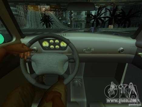 Ford FR 100 pour GTA San Andreas sur la vue arrière gauche