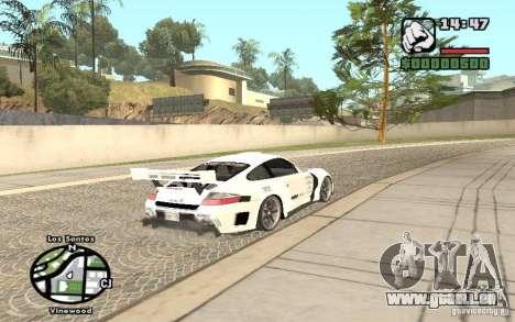 Porsche 911 Turbo S Tuned pour GTA San Andreas laissé vue
