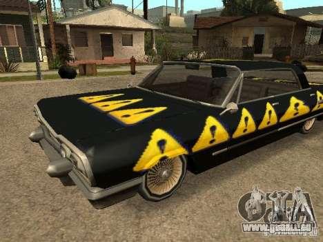 Savanna Texturen pour GTA San Andreas laissé vue