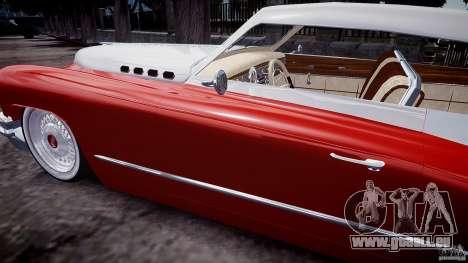 Buick Custom Copperhead 1950 für GTA 4 Seitenansicht