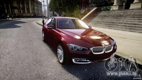 BMW 335i 2013 v1.0 für GTA 4 Seitenansicht