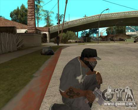Resident Evil 4 weapon pack für GTA San Andreas sechsten Screenshot