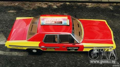 Dodge Monaco 1974 Taxi v1.0 pour GTA 4 est un droit