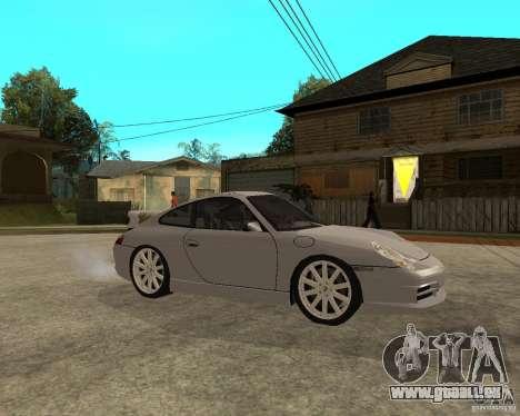 Porsche GT3 pour GTA San Andreas vue de droite