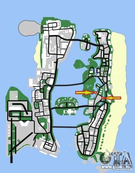 Windsurf für GTA Vice City rechten Ansicht