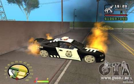 Brennenden Auto in GTA 4 für GTA San Andreas