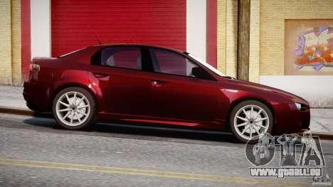 Alfa Romeo 159 Li pour GTA 4 est une gauche