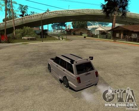 VAZ 2104 schwer Tuning für GTA San Andreas linke Ansicht