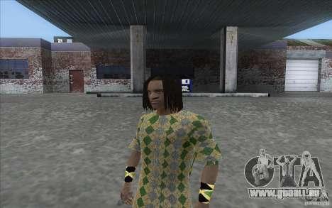 Rasta ped pour GTA San Andreas