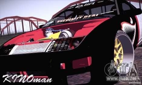 Nissan 300ZX Z32 für GTA San Andreas Innenansicht