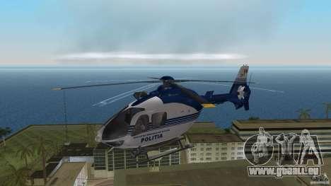 Eurocopter Ec-135 Politia Romana pour une vue GTA Vice City de la gauche