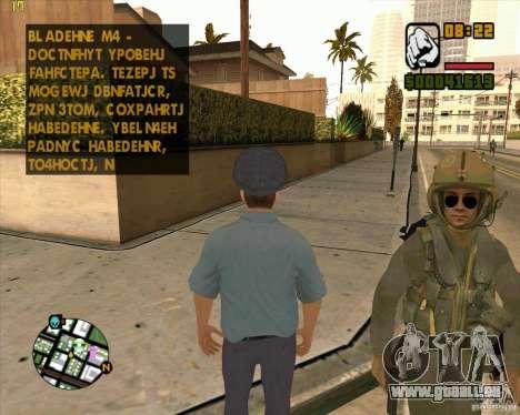 Russische Polizei Haut für GTA San Andreas zweiten Screenshot