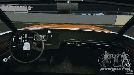 Dodge Dart GTS 1969 pour GTA 4 Vue arrière