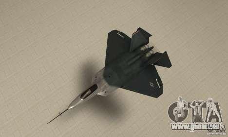 YF-22 Standart pour GTA San Andreas vue de droite