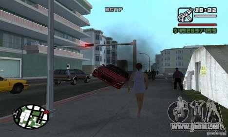 Verlegenheit Auto für GTA San Andreas her Screenshot