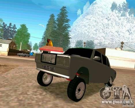 VAZ 2107 voll für GTA San Andreas