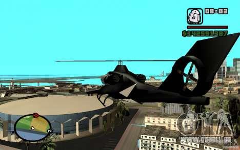 Urban Strike helicopter für GTA San Andreas rechten Ansicht