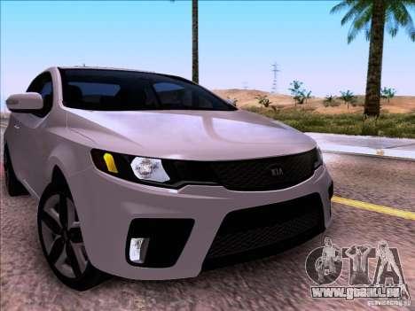 Kia Forte Koup SX für GTA San Andreas rechten Ansicht