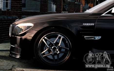 Écrans de menu et démarrage BMW HAMANN dans GTA  pour GTA San Andreas deuxième écran