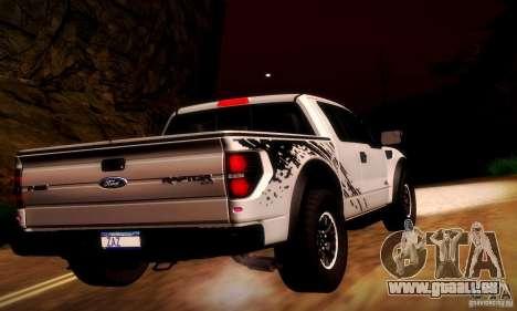 Ford F-150 SVT Raptor V1.0 für GTA San Andreas Rückansicht