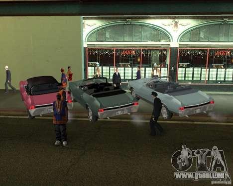 Chevrolet Chevelle 1968 für GTA San Andreas zurück linke Ansicht
