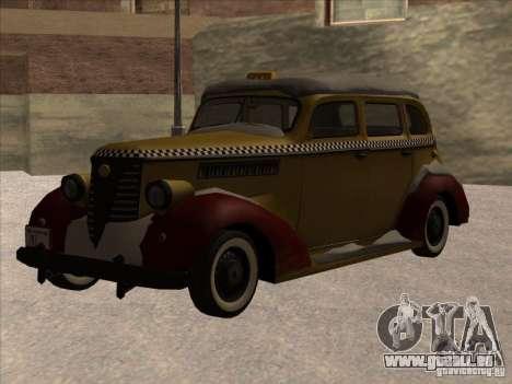 Shubert TAXI de MAFIA 2 pour GTA San Andreas