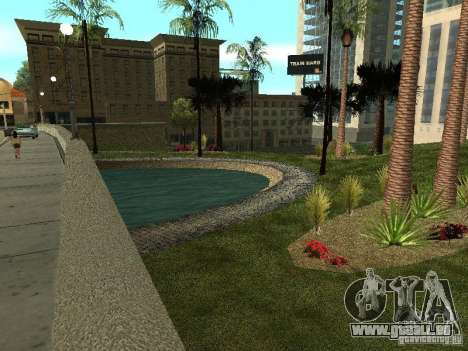 Glen Park HD pour GTA San Andreas troisième écran