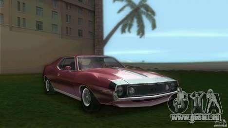 AMC Javelin 1971 pour GTA Vice City