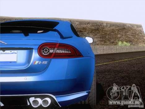 Jaguar XKR-S 2011 V2.0 pour GTA San Andreas vue de côté
