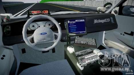 Ford Crown Victoria v2 NYPD [ELS] für GTA 4 rechte Ansicht