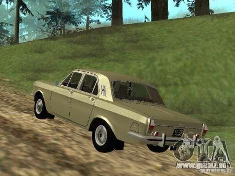 GAZ 24-01 pour GTA San Andreas vue de droite