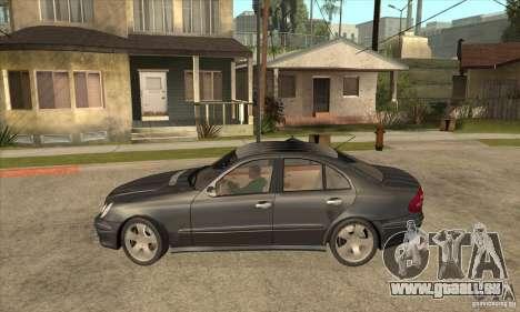 Mercedes-Benz E500 2003 pour GTA San Andreas laissé vue