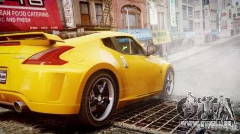 Nissan 370Z Final pour GTA 4 est une gauche