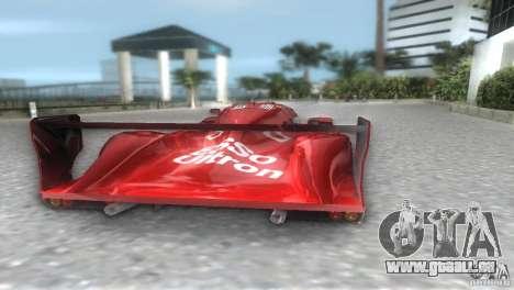 Toyota GT-One TS020 für GTA Vice City linke Ansicht