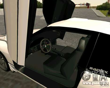 Nissan 240SX S13 pour GTA San Andreas sur la vue arrière gauche