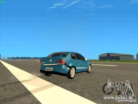 Volkswagen Voyage Comfortline 1.6 2009 für GTA San Andreas Seitenansicht