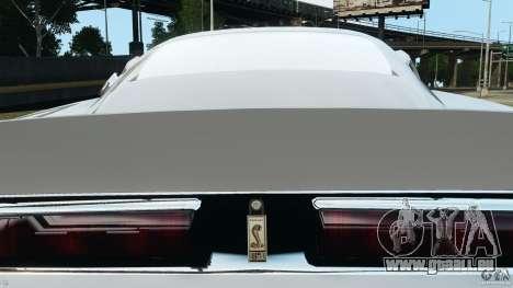 Shelby GT 500 Eleanor für GTA 4 Unteransicht