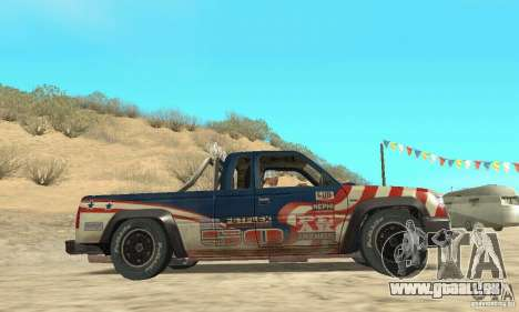 Nevada v1.0 FlatOut 2 für GTA San Andreas rechten Ansicht