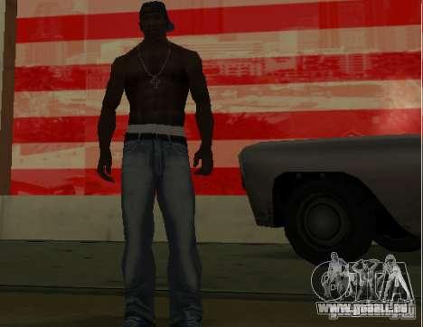 Nouveaux jeans pour CJ pour GTA San Andreas troisième écran