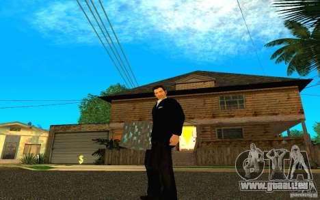 Diamond Erz aus dem Spiel Minecraft für GTA San Andreas dritten Screenshot