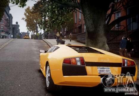 Lamborghini Murcielago für GTA 4 rechte Ansicht