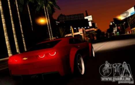 Chevrolet Camaro Tuning pour GTA San Andreas vue de droite