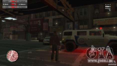 First Person Shooter Mod pour GTA 4 sixième écran