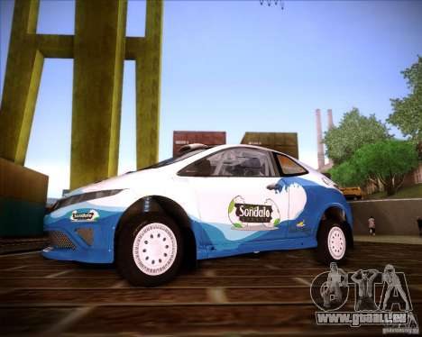Honda Civic Type-R (Rally team) für GTA San Andreas