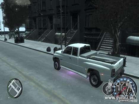 Dodge Ram 3500 pour GTA 4 est un droit