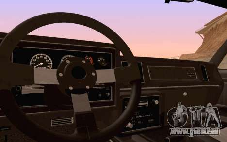 Buick GNX 1987 für GTA San Andreas Räder