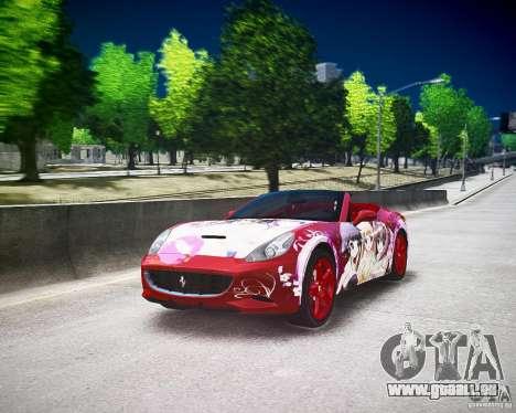 Ferrari California DC Texture pour GTA 4